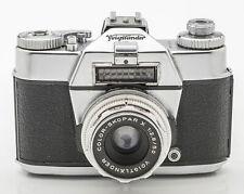 Voigtländer Bessamatic Deluxe Sucherkamera Color Skopar X 2.8 50mm Optik