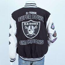 Vintage NFL Oakland Raiders Super Bowl Baseball Jacket L