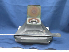 Antique Lidded Cast Iron Inkwell with Ink Well Jar and Letter Opener - Austria