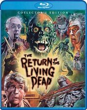 THE RETURN OF THE LIVING DEAD New Sealed Blu-ray Collector's Edition