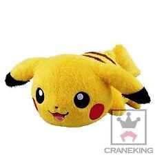 Pokemon Pikachu Kutsurogi Time Big Plush BANPRESTO