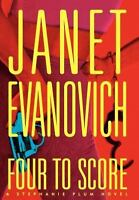 Four to Score Stephanie Plum Book 4 Hardcover Janet Evanovich FREE SHIPPING