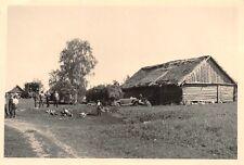 Deutsche Soldaten Rast Dorf bei Welisch Ostfront