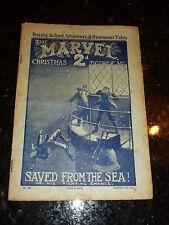 The MARVEL Comic - Vol 11 - No 465 - Date 21/12/1912 - UK Paper Comic