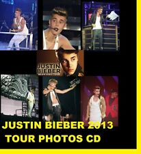 JUSTIN BIEBER BELIEVE CONCERT TOUR LIVE 2013 1200 PHOTOS CD