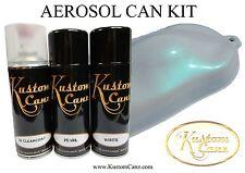 PEARL Turquoise  AEROSOL CAN KIT - GUITAR,  CUSTOM PAINT, LAMBRETTA,  AIRBRUSH
