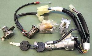 MGF MG TF FULL CAR LOCK + IGNITION LOCK SET RHD CWB103651MMM SWITCH CENTRAL LOCK