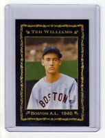 Ted Williams '40 Boston Red Sox, rookie season limited edition, only 200 exist
