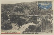 MEXICO RAILWAYS PUENTE TASQUILLO SOBRE EL RIO TULA REAL PHOTO