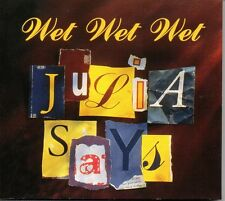 ★ MAXI CD WET WET WET	Julia says French Promo 1-track Digipack  ★