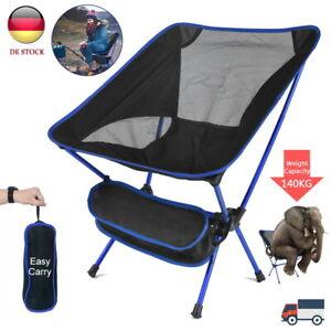 Campingstuhl Faltbar Klappstuhl Outdoor Anglerstuhl Strand Stuhl Leicht-Tragbar