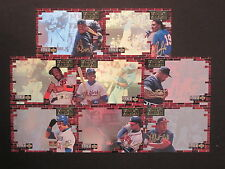 "1994 UD Collectors Choice ""Crash The Card"" Mail-in Baseball 8 Card Set GOLD SIGS"