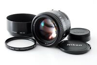 [Excellent+++++ w/Hood] Nikon AF Nikkor 85mm f/1.8 Telephoto Lens from Japan Fdx