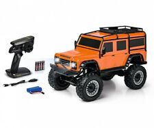 Carson RC 1:8 Land Rover Defender 2.4GHz 100% RTR orange Crawler, Geländewagen
