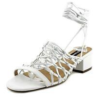 Design Lab Womens Mya Wrap Open Toe Dress Heels Shoes BHFO 2941