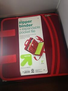 """2"""" Ring Zipper Binder with Strap - Up&Up"""