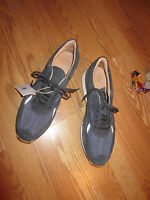 GREATS Blue suede shoe graphite PRONTO mens euro 46 made in italy USA 13