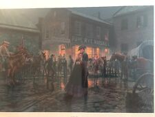 The Palace Bar By Mort Kunstler Limited Edition Print