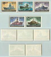 Russia USSR 1982  SC 5085-5089 MNH ships . rt5639