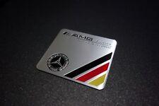 * Mercedes Benz AMG Edition Embossed Metal Badge Emblem Sticker Logo *