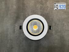 24 Volt design LED Spot Einbaustrahler dimmbar 7 Watt, Weiß für z.B. Loxone, EIB