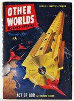 Other Worlds Science Stories December 1951 Pulp Magazine Vol. 3 No. 7 Ray Palmer