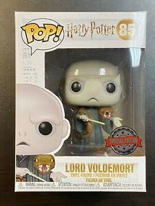 FUNKO POP HARRY POTTER LORD VOLDEMORT NAGINI #85 SPECIAL EDITION EXCLUSIVE PIAB