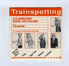 CD SINGLE PROMO (NEW) TRAINSPOTTING I.POP PULP D;ALBARN SLEEPER LEFTFIELD