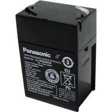Panasonic SLA Sealed Lead Acid Back up Battery 6V 4.5ah LC-R064R5P UPS back up