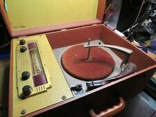 New listing Vintage Symphonic Suitcase Radio/Record Player selling as is