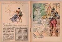 QUADERNO D'EPOCA ANNI '30-'40 N. 3 IL CESTO DI FICHI V. MOLINO -Q65