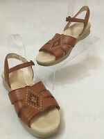SAS Tripad Comfort Women's Brown Leather Slingback Sandals Size 11 N