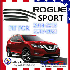 For Nissan Rogue SPORT MODEL 2014-2021 OEJDM Window Visor Rain Guard Deflectors