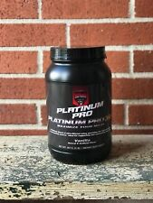 Platinum Pro:Whey Protein 2lb -Best Tasting Vanilla -2 sugar -Guaranteed Results