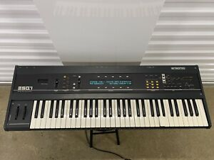 Ensoniq ESQ-1 Digital Wave/Analog Polyphonic Synthesizer Untested Powers On