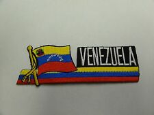 PATCH COUNTRY FLAG SEW ON JACKET SHORT OR PANTS VENEZUELA