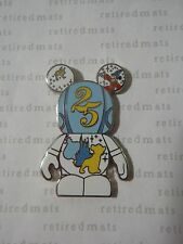 Disney Vinylmation Park #8 WDW 25th ANNIVERSARY LOGO Simba Lion King Genie Pin