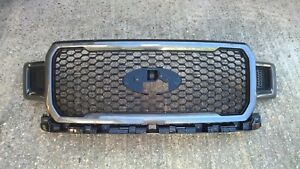 Ford F150 2018 Metallic Grey Honeycomb Grille - NEW