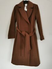 New Arrival H&M Coat with a tie belt Last Size 6