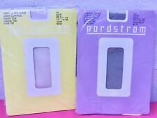 Vintage Nordstrom Stretch Sheer Pantyhose Sz B Sage Silver New Shiny Ultra