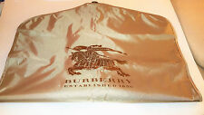Burberry Suit Coat Dust Protector Cover Storage Bag Garment Luggage Bag