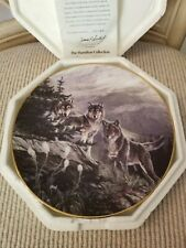 The Hamilton Collection Plate, The Year of the Wolf, Plate No. 1617B.