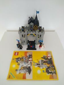 LEGO 6074 Black Falcon's Fortress Castle Knights – with Instructions