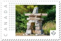 INUKSHUK = rock statue = Picture Postage stamp = MNH Canada 2018 [p18-01sn03]
