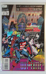 Avengers Terminatrix Objective #1 (1993) Marvel VF Comic Key 1st App Alioth