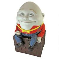 18th Century British Fabeled Humpty Dumpty Sculpted Home Garden Decor
