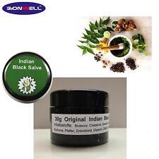 30 g Glastiegel Indian Black Balm Salve Indikator Diagnose Reagenzie