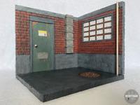 VertigoToys 1:12 Scale Alleyway #1 Action Figure Diorama (Marvel Legends, NECA)