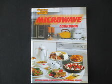 Cook Book MICROWAVE Quick Cookery Recipes Cooking Australian Womens Weekly