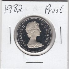 1982 Canada 50 cents Proof half dollar from Mint Set UHCameo GEM